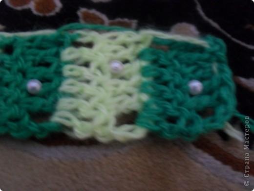 нитки синтетика лимонного и зеленого цвета фото 5