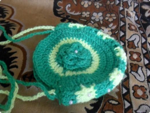 нитки синтетика лимонного и зеленого цвета фото 9