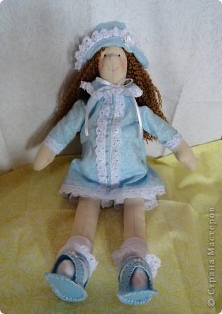 Тильда Женя сидя. фото 1
