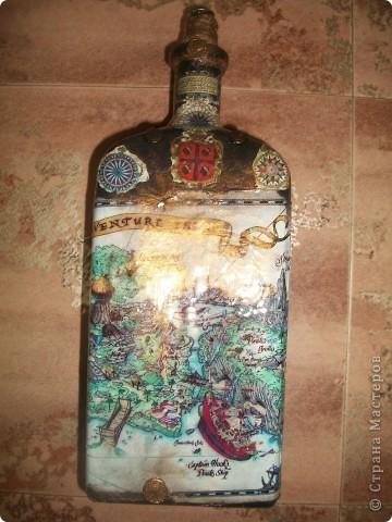 """Бутылка """"Пиратский клад"""" фото 1"""