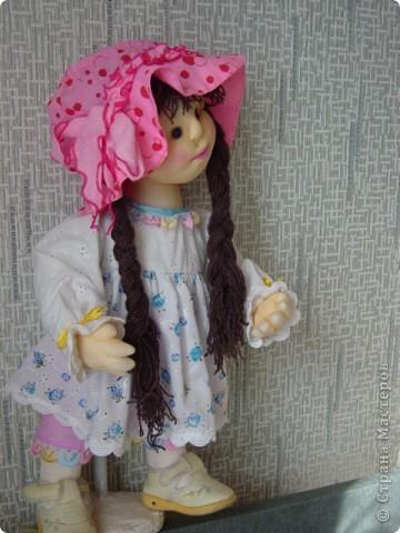 Кукла сделана в технике скульптурный текстиль фото 1