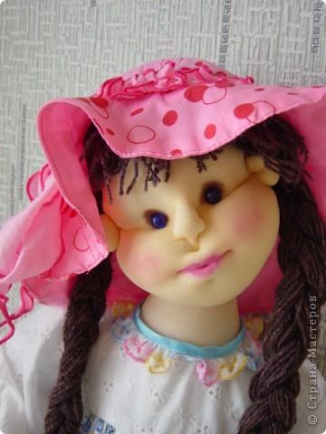 Кукла сделана в технике скульптурный текстиль фото 3