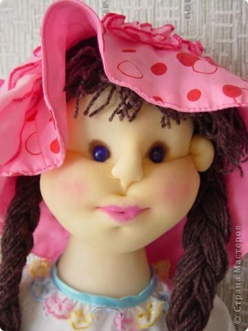 Кукла сделана в технике скульптурный текстиль фото 4