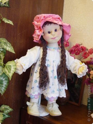 Кукла сделана в технике скульптурный текстиль фото 2
