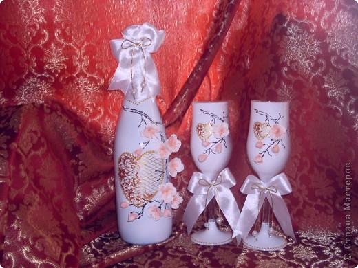 """свадебный набор""""ветка сакуры"""" фото 1"""