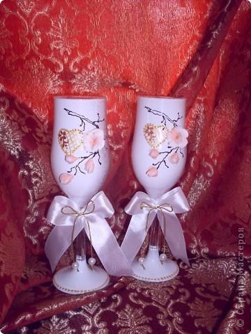 """свадебный набор""""ветка сакуры"""" фото 3"""
