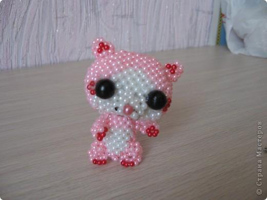 Доченька увидела у http://stranamasterov.ru/node/341010?c=favorite  кошечку Герцогиню и загорелась сплести. Спасибо Бригантине. Сегодня счастью нет предела. фото 1
