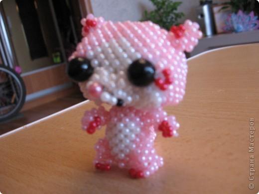 Доченька увидела у http://stranamasterov.ru/node/341010?c=favorite  кошечку Герцогиню и загорелась сплести. Спасибо Бригантине. Сегодня счастью нет предела. фото 8