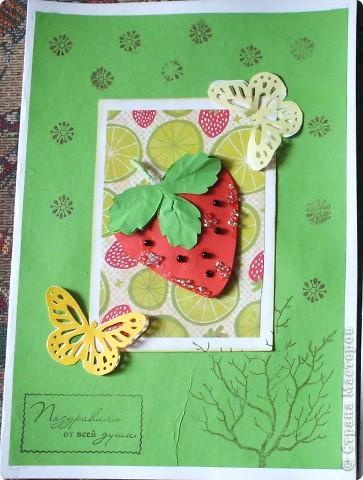 Вот такие открыточки...Как-то мне Ирина(Голубка) присылала такую АТСочку ,она мне очень понравилась!!!!!!!!!И я решила сделать похожие,но в виде открыток...... фото 4