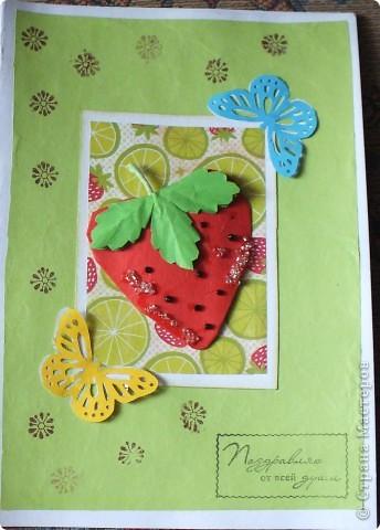 Вот такие открыточки...Как-то мне Ирина(Голубка) присылала такую АТСочку ,она мне очень понравилась!!!!!!!!!И я решила сделать похожие,но в виде открыток...... фото 3