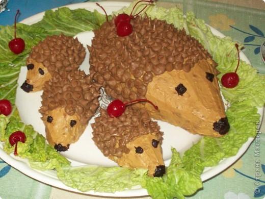 Тортик Ежики