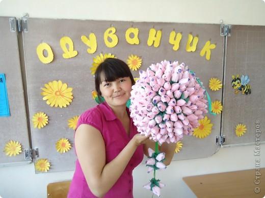 Вот такой подвесной шарик сделали в конце учебного года.Всем очень понравился. фото 4