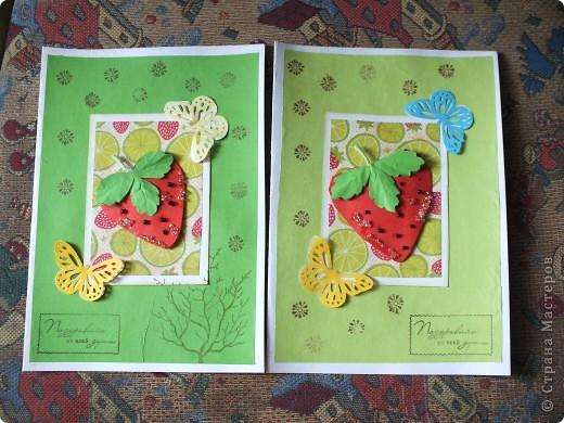 Вот такие открыточки...Как-то мне Ирина(Голубка) присылала такую АТСочку ,она мне очень понравилась!!!!!!!!!И я решила сделать похожие,но в виде открыток...... фото 1
