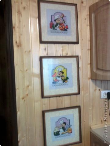 По просьбе - серия вышивки на кухню У меня три первые, вышивала одну где-то неделю Постараюсь найти источник схем, и обязательно добавлю Дописано: Автор этих схем - Светлана Прокопец а оригиналы схем находятся тут - http://rutracker.org/forum/viewtopic.php?t=1865826 фото 1