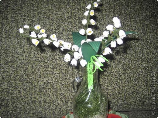 гвоздики во всей красе из салфеток фото 3
