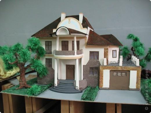 макет дома фото 1