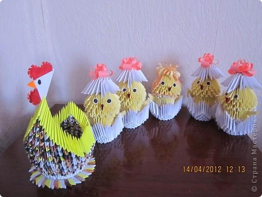 Курочка с цыплятками  фото 2