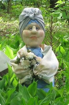 Тетушка Глафира (фигурка для сада) фото 1