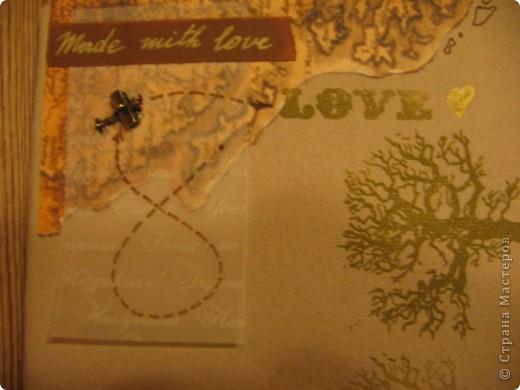 """А вот и мой второй альбом """" Мой путь"""". Сделан он для мужчины на 23 февраля. Фото в альбоме нет, т.к. предполагалось, что владелец альбома сам их подберёт. Обложка - моя гордость! Мне очень нравится. Дальше в деталях. фото 8"""