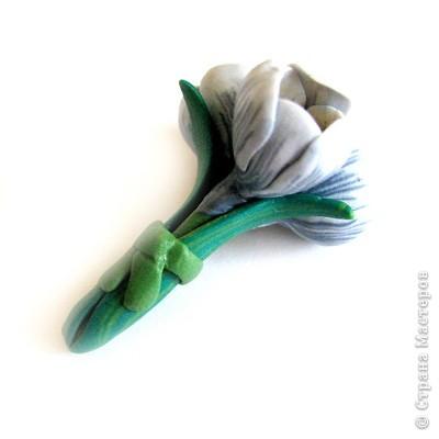 Дорогие жители СМ, поздравляю Всех с праздником! У нас в мае цветут крокусы, такие красивые и нежные... Вот и захотелось сделать украшение с ними. фото 16