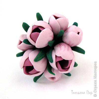 Дорогие жители СМ, поздравляю Всех с праздником! У нас в мае цветут крокусы, такие красивые и нежные... Вот и захотелось сделать украшение с ними. фото 21