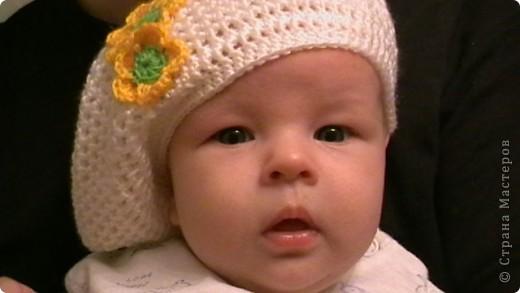 первый беретик для дочки