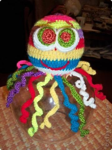 Медуза погремушка фото 1