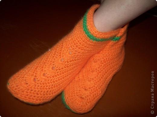 Носочки-сапожки домашние фото 1