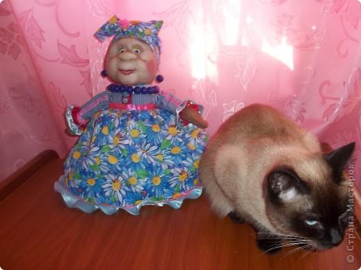 Вот моя бабуля с кошечкой Мэни! фото 1
