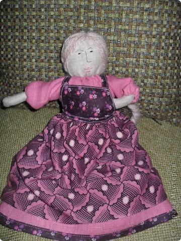 Эту куклу я решила назвать Василиса фото 1