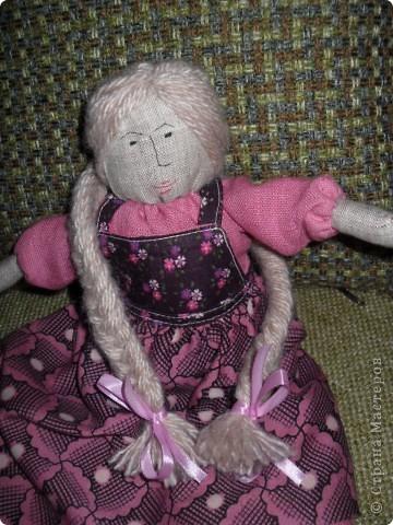 Эту куклу я решила назвать Василиса фото 2