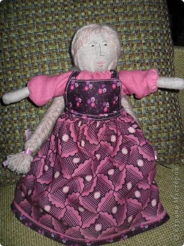 Эту куклу я решила назвать Василиса фото 5