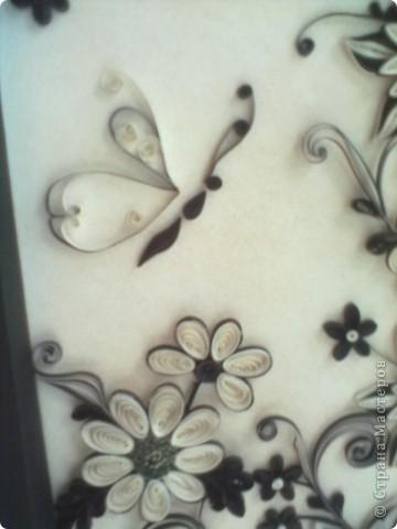 Очень понравилась работа Натальи-К  http://stranamasterov.ru/node/211819 . Сделала рамку из бумаги для пастели, но  получилась маленькой, вот и тесновато для цветов стало. Фон делала сухой пастелью. фото 6