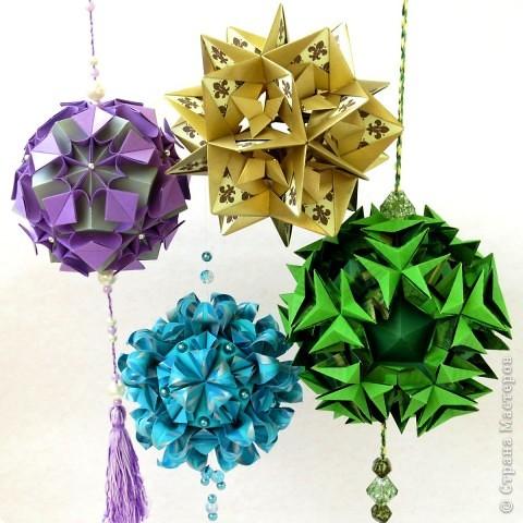 С Днем Победы!  Уже почти год, как я занимаюсь оригами, своеобразная кусудамотерапия, тоже победа. В общем, с праздником.  фото 1