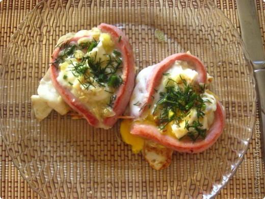 Завтрак почти в постель на День рождения мужа. Незабываемая самая вкусная яичница!!!