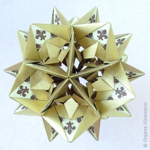 С Днем Победы!  Уже почти год, как я занимаюсь оригами, своеобразная кусудамотерапия, тоже победа. В общем, с праздником.  фото 2