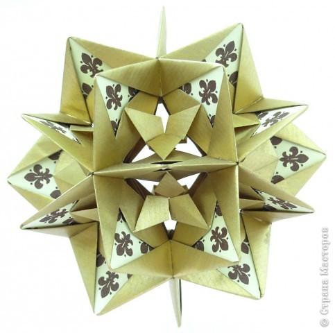 С Днем Победы!  Уже почти год, как я занимаюсь оригами, своеобразная кусудамотерапия, тоже победа. В общем, с праздником.  фото 3