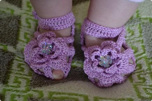 Туфельки для маленькой принцессы фото 1