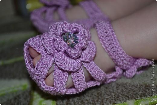 Туфельки для маленькой принцессы фото 2