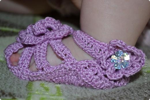 Туфельки для маленькой принцессы фото 3
