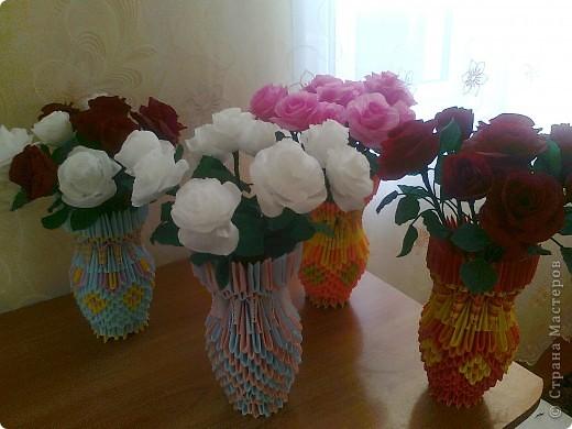 вазы с розами фото 9