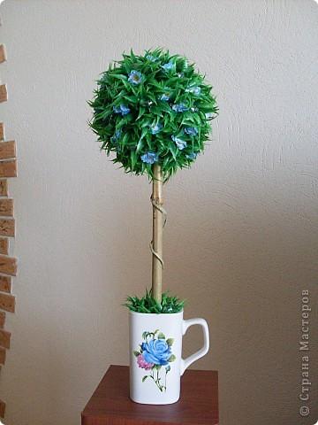 Сделала это деревце потому, что очень хотела задействовать кружку, форма у нее интересная) фото 6