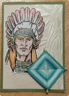 """№18 - """"Ловцы снов"""". Сделаны по аналогии с рыбками из соленого теста, но только из картона. фото 6"""