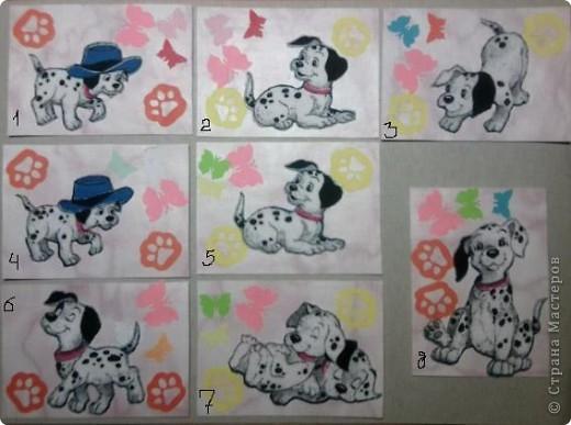 """№18 - """"Ловцы снов"""". Сделаны по аналогии с рыбками из соленого теста, но только из картона. фото 11"""