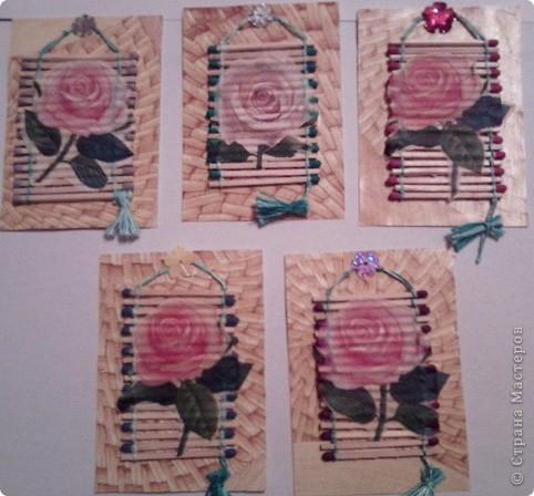 """№18 - """"Ловцы снов"""". Сделаны по аналогии с рыбками из соленого теста, но только из картона. фото 13"""