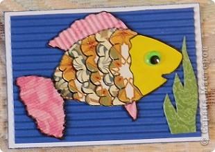 """№18 - """"Ловцы снов"""". Сделаны по аналогии с рыбками из соленого теста, но только из картона. фото 25"""