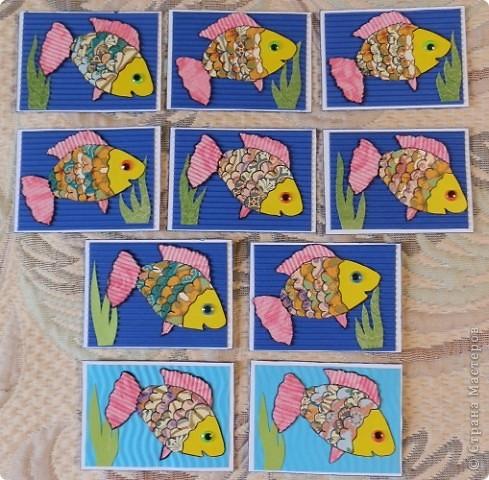 """№18 - """"Ловцы снов"""". Сделаны по аналогии с рыбками из соленого теста, но только из картона. фото 24"""