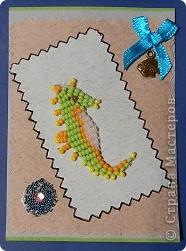 """№18 - """"Ловцы снов"""". Сделаны по аналогии с рыбками из соленого теста, но только из картона. фото 31"""