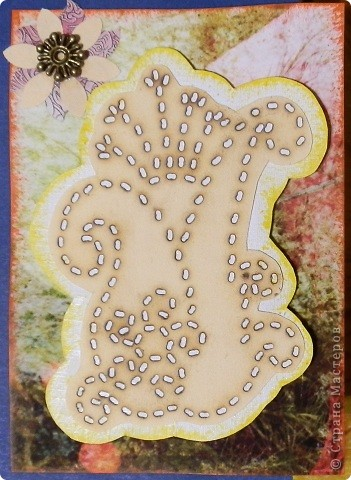 """№18 - """"Ловцы снов"""". Сделаны по аналогии с рыбками из соленого теста, но только из картона. фото 33"""