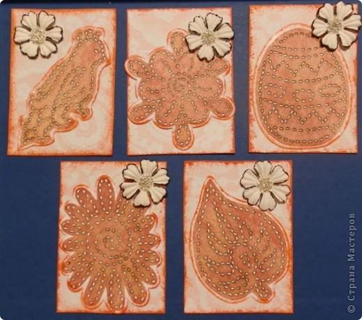 """№18 - """"Ловцы снов"""". Сделаны по аналогии с рыбками из соленого теста, но только из картона. фото 34"""
